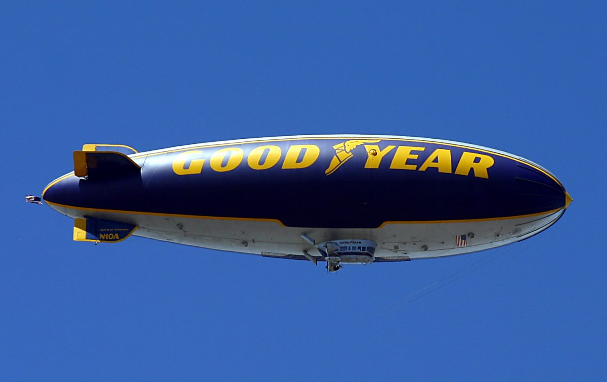 Wovax WordPress Mobile Apps Advertising Goodyear blimp