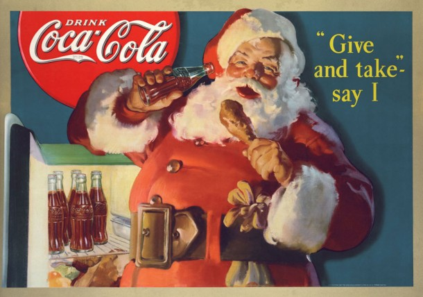 Wovax WordPress Mobile Apps Advertising Santa Claus Coca-cola
