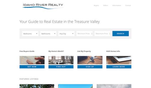 Idaho River Realty WordPress IDX