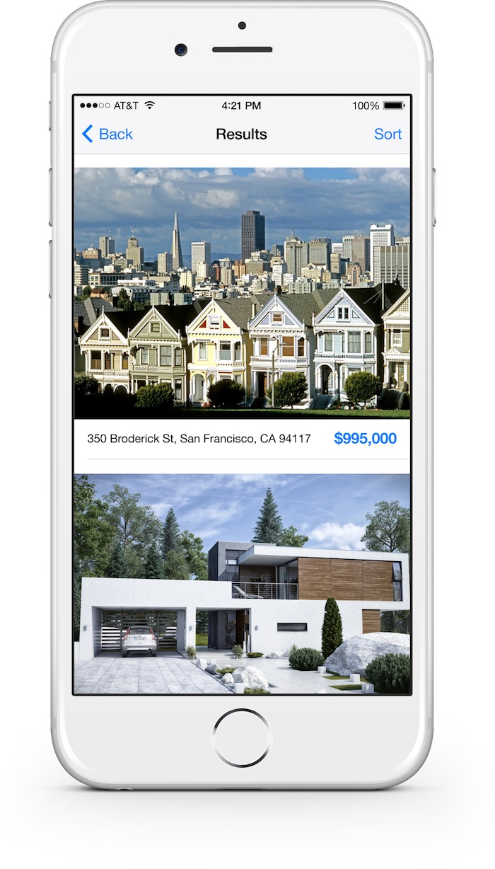 WordPress IDX Real Estate iPhone App